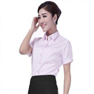 万博max手机版备用职业装女衬衫夏