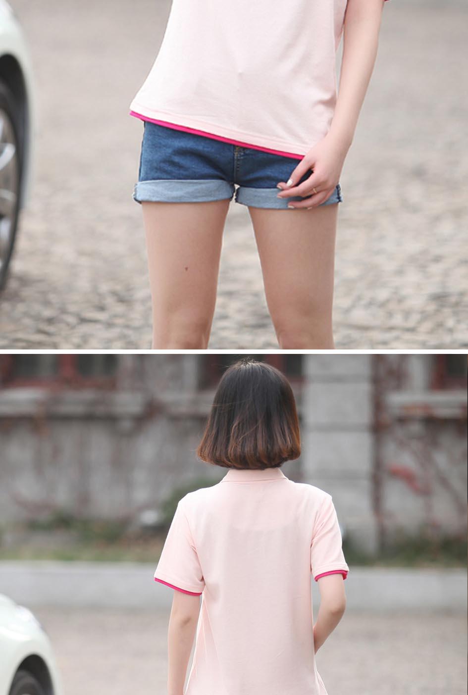 万博max手机版备用T恤模特展示1
