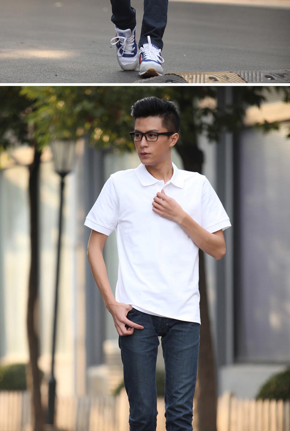 万博max手机版备用T恤男款展示